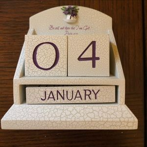 Heavy Duty Decorative Desk Calendar